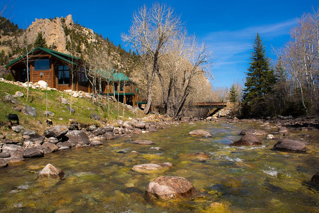 Rock Creek property in Montana